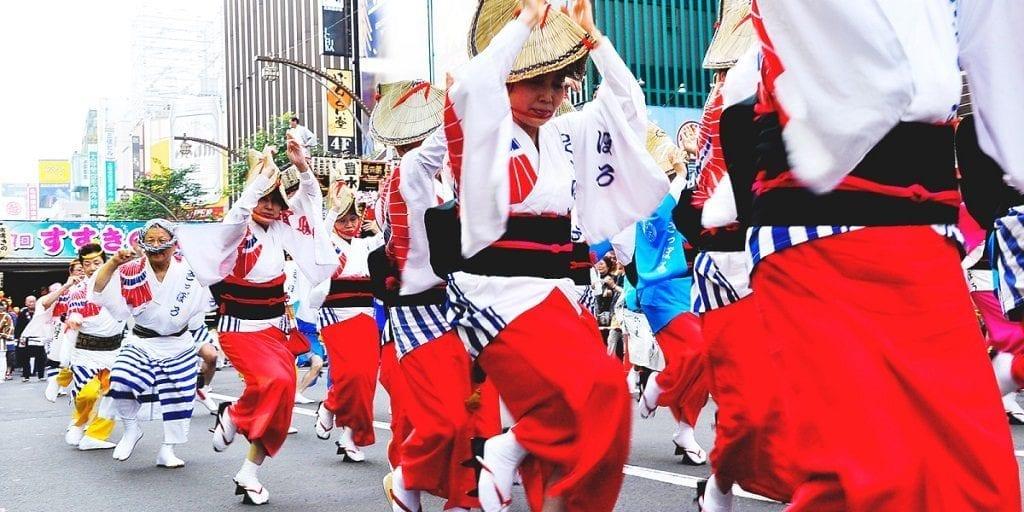 Sapporo Summer Festival Japan