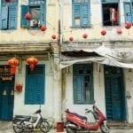 Chinatown shophouse, Malaysia