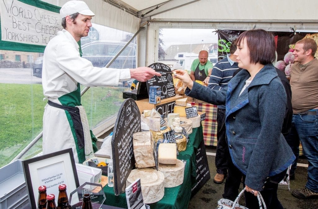 Yorkshire Dales Cheese Festival Returns