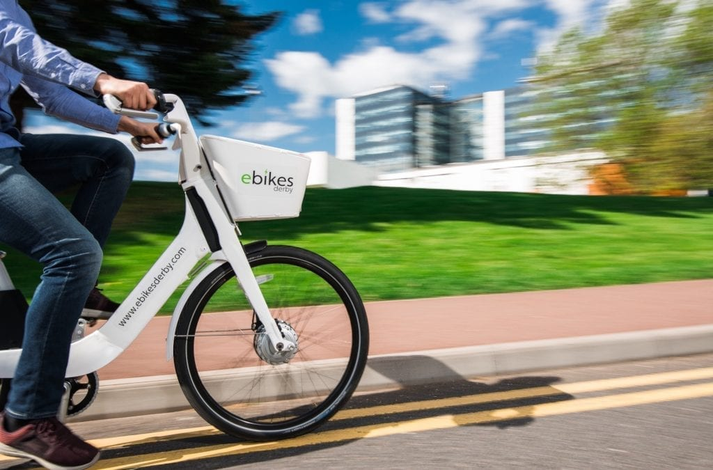 Derby Unveils Electric Bike Sharing Scheme