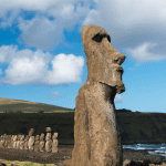 Stranded in Paradise with Easter Island Statues