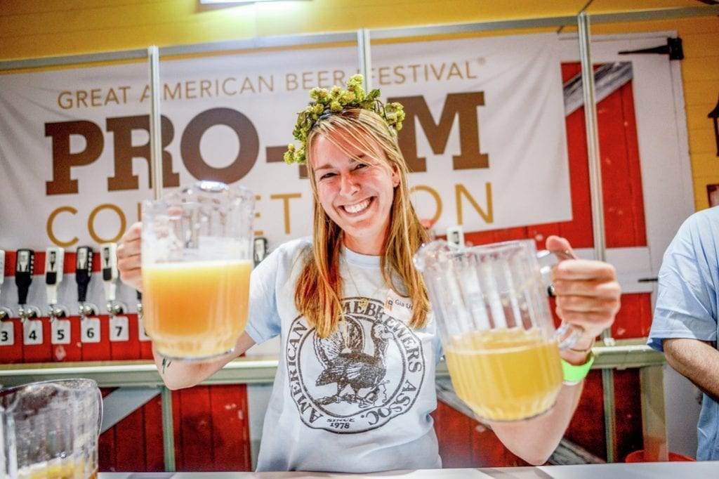 Beerfestivals in the UK, Belgium, Germany and the US: Great American Beer Festival