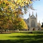 Hampshire's Ode to Autumn in Winchester