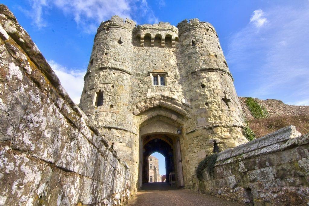Carisbroke Castle Isle of Wight Holidays