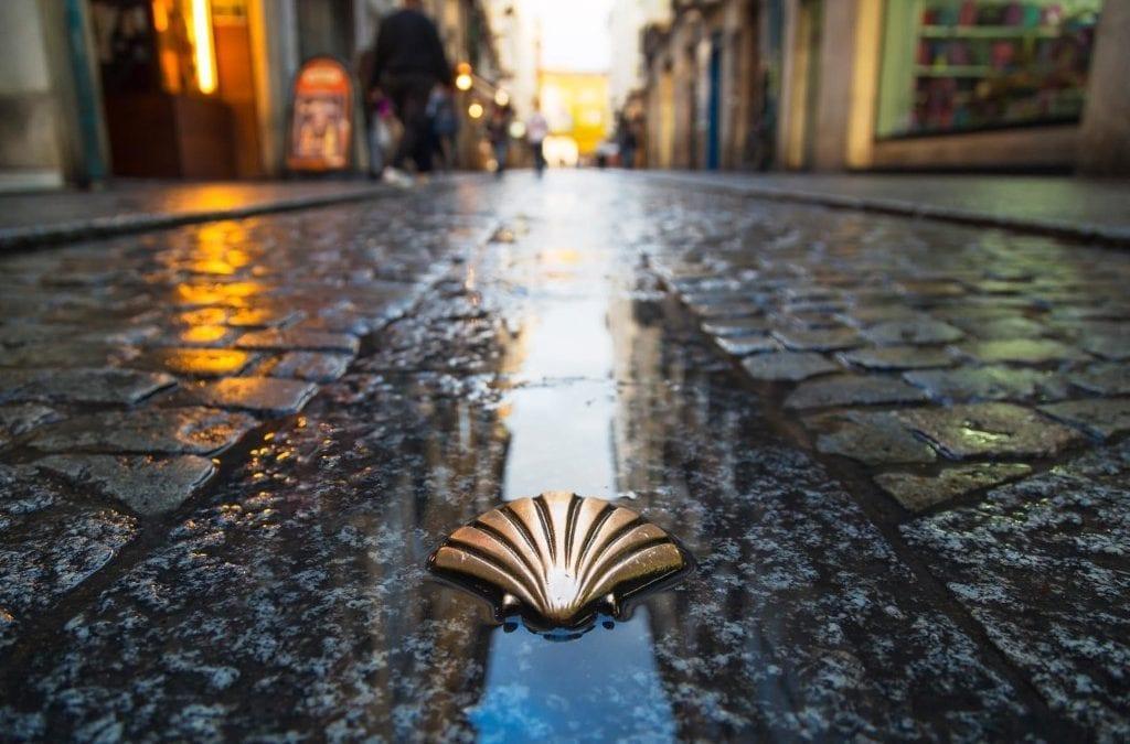 Pilgrim Steps to Santiago de Compostela