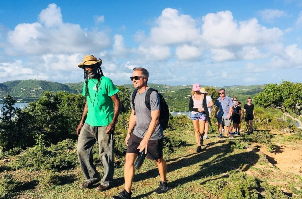 Hike the Caribbean from Antigua to Nevis