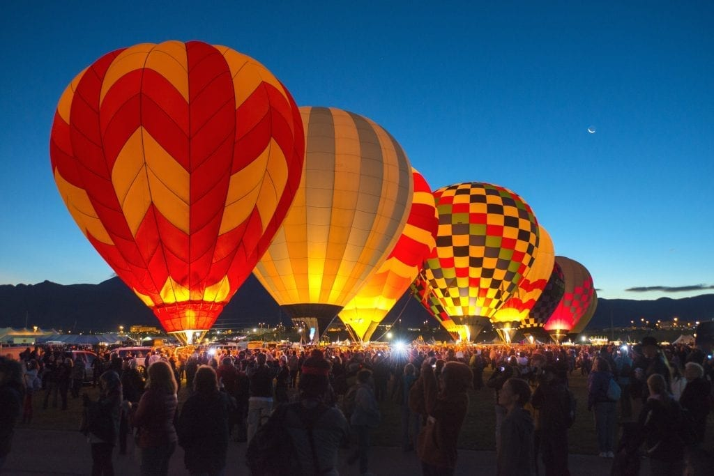The Albuquerque International Balloon Fiesta 2018