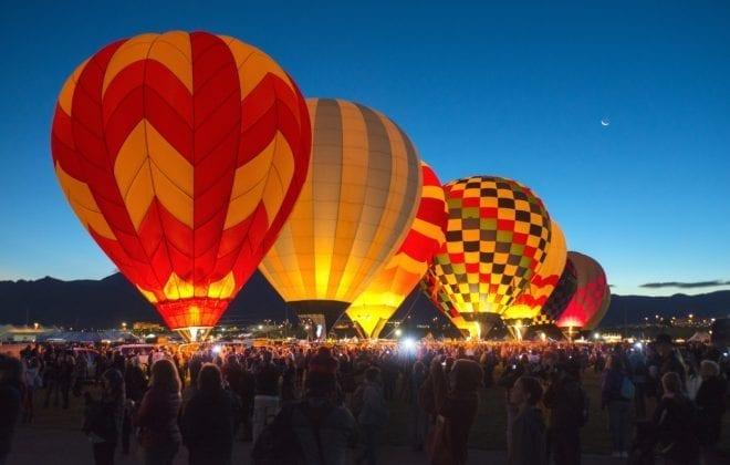 The Albuquerque Balloon Fiesta 2018
