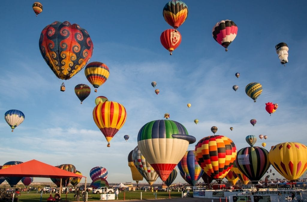 Twitchers, Balloons & Miracles: October Festivals
