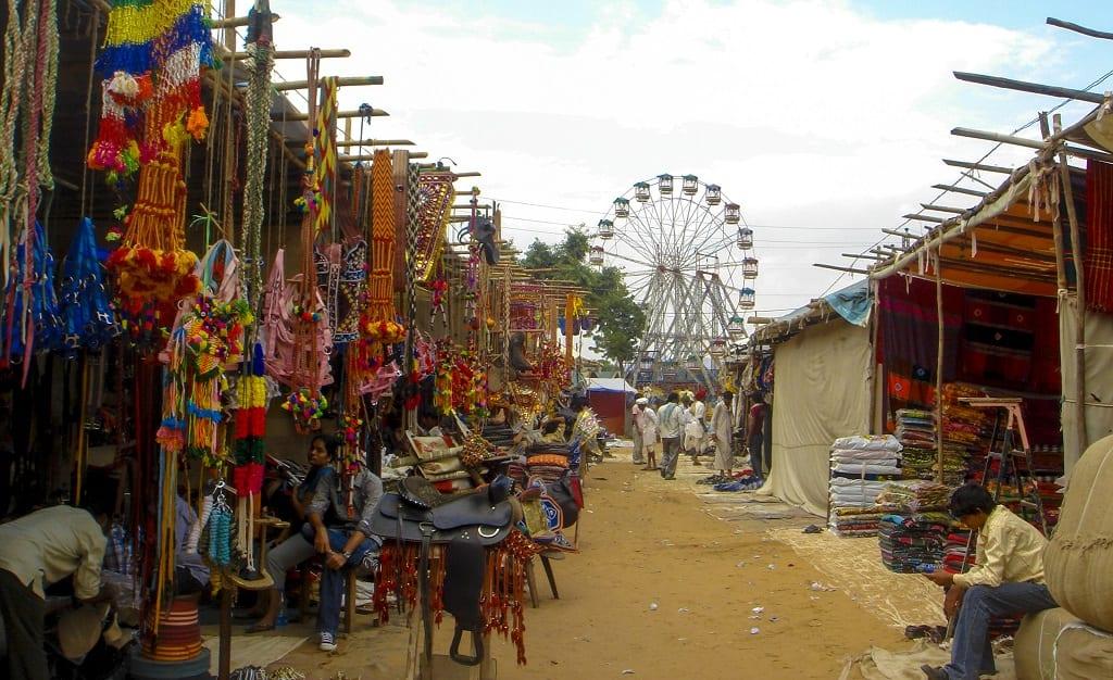 Ferris wheel in Pushkar, India