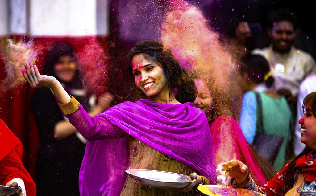 Hindu Festivals of India, Holi, Festivals in March