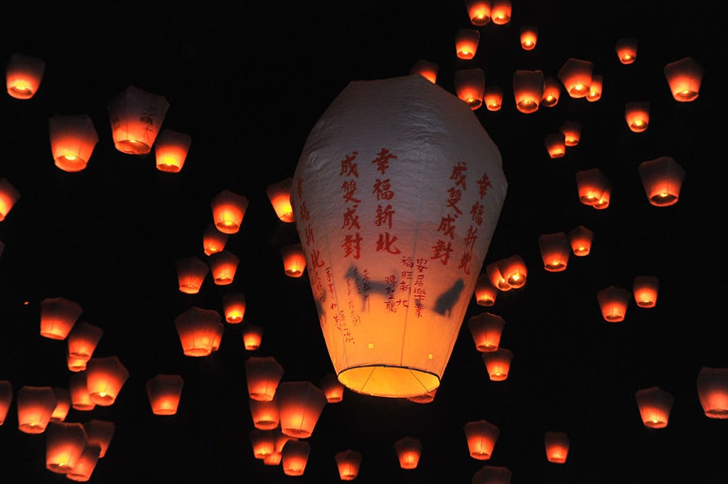Lantern Light Festival 2020 Pingxi Sky Lantern Festival 2020, Taiwan | Travel Begins at 40