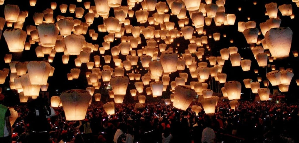 Taiwan Lantern Festival 2020 Pingxi Sky Lantern Festival 2020, Taiwan | Travel Begins at 40