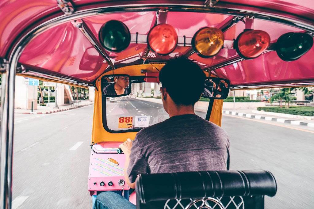 Thailand travel restrictions- tuk tuk