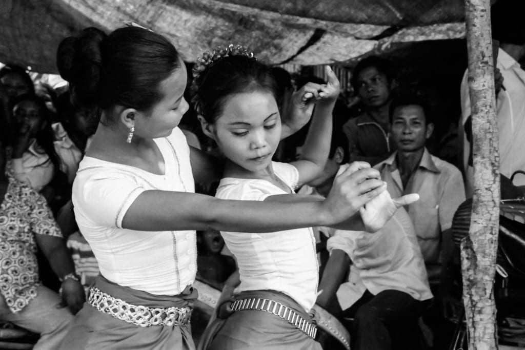 """Angkor Photo Festival, Sharon May, """"Dancing in Site II (1985): Life and Art in Cambodian Refugee Camps after the War"""""""
