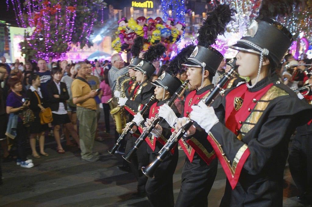 Thailand music parade