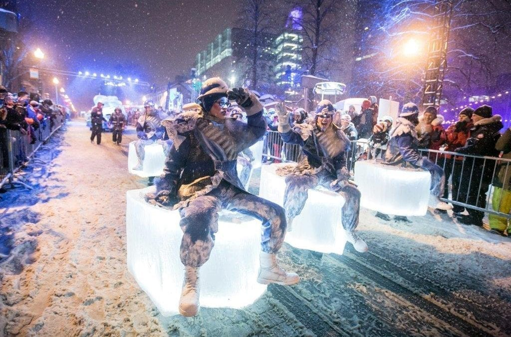 Visit Quebec's Coolest Winter Festival