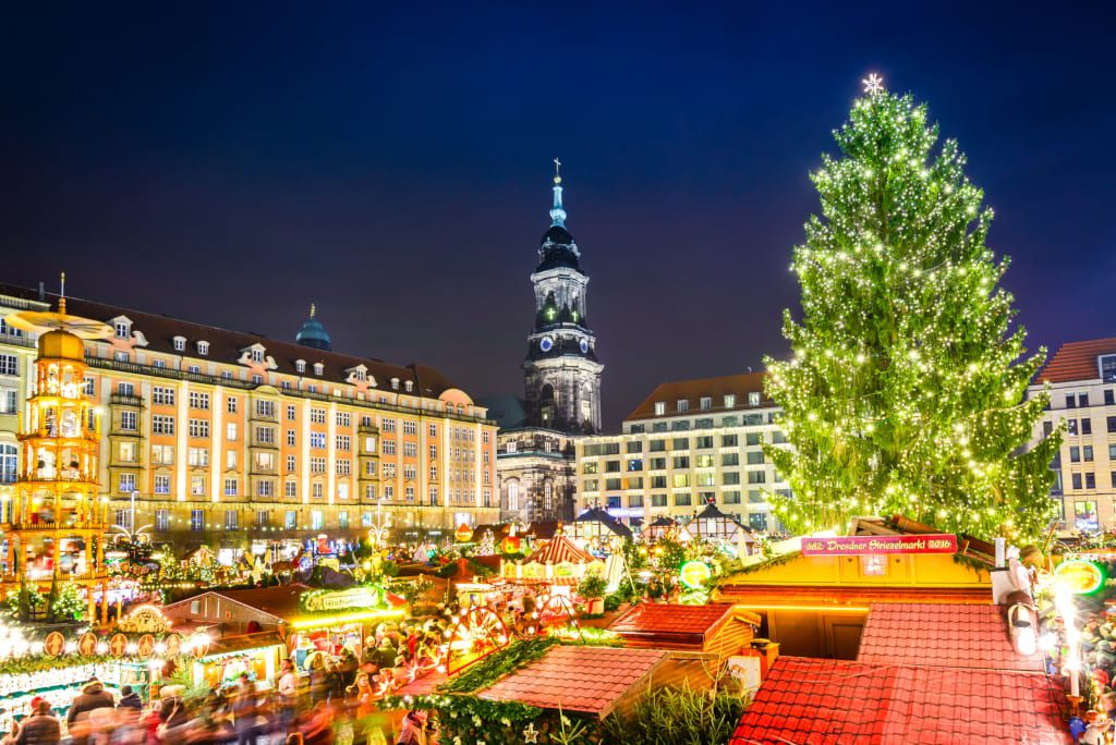 Dresden Christmas markets in Europe