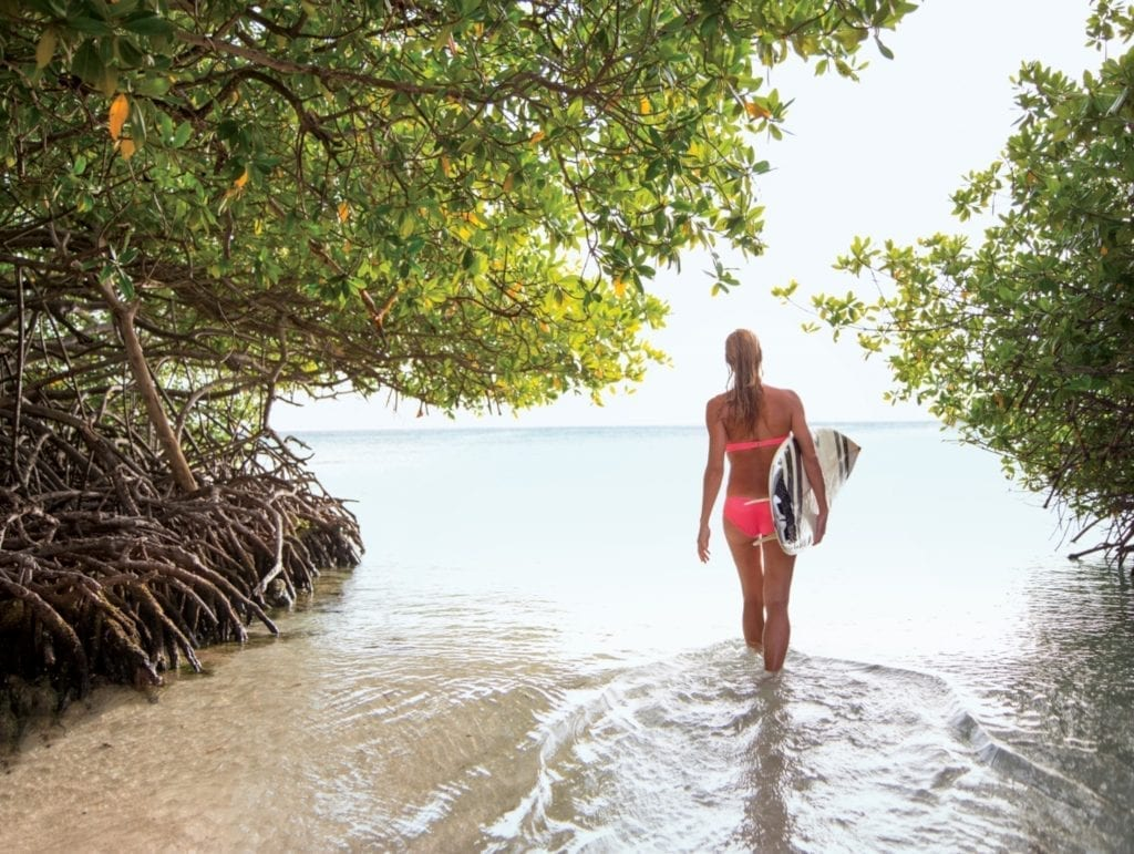 caribbean aruba island