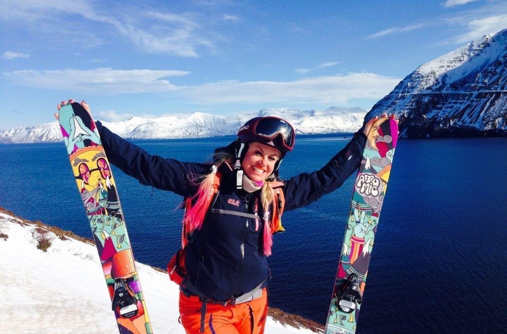 Chemmy Alcott Skiing App Challenge