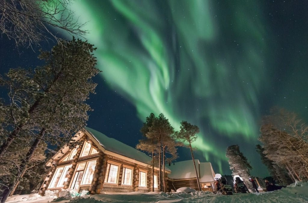 Twixmas with Northern Lights Not Cold Turkey