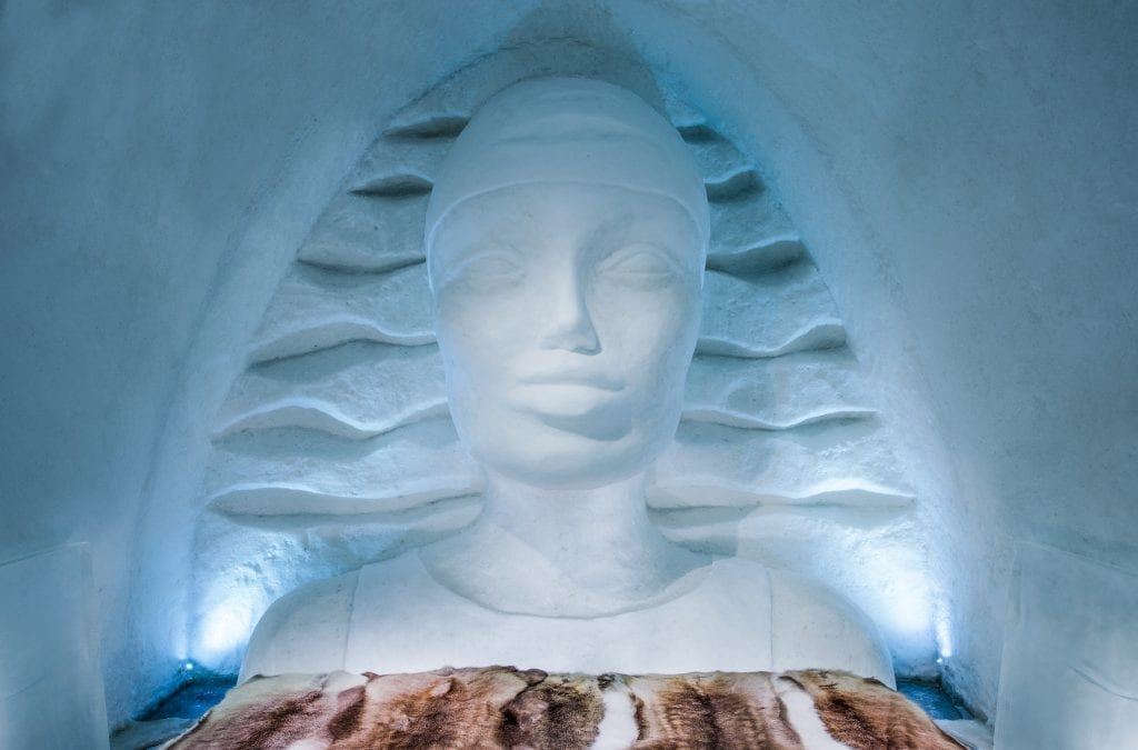 Take an IceFlight to 29th IceHotel, Swedish Lapland