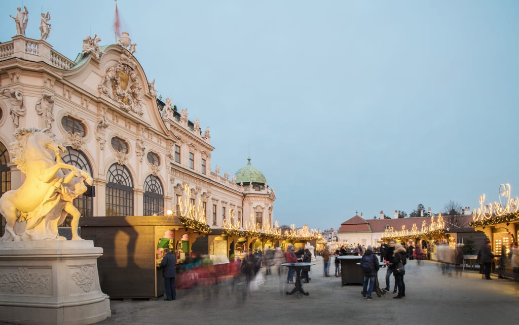 Belevedere Castle Vienna Christmas Market