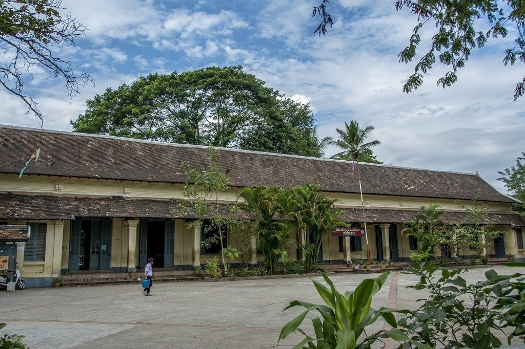 French colonial primary school, Laos