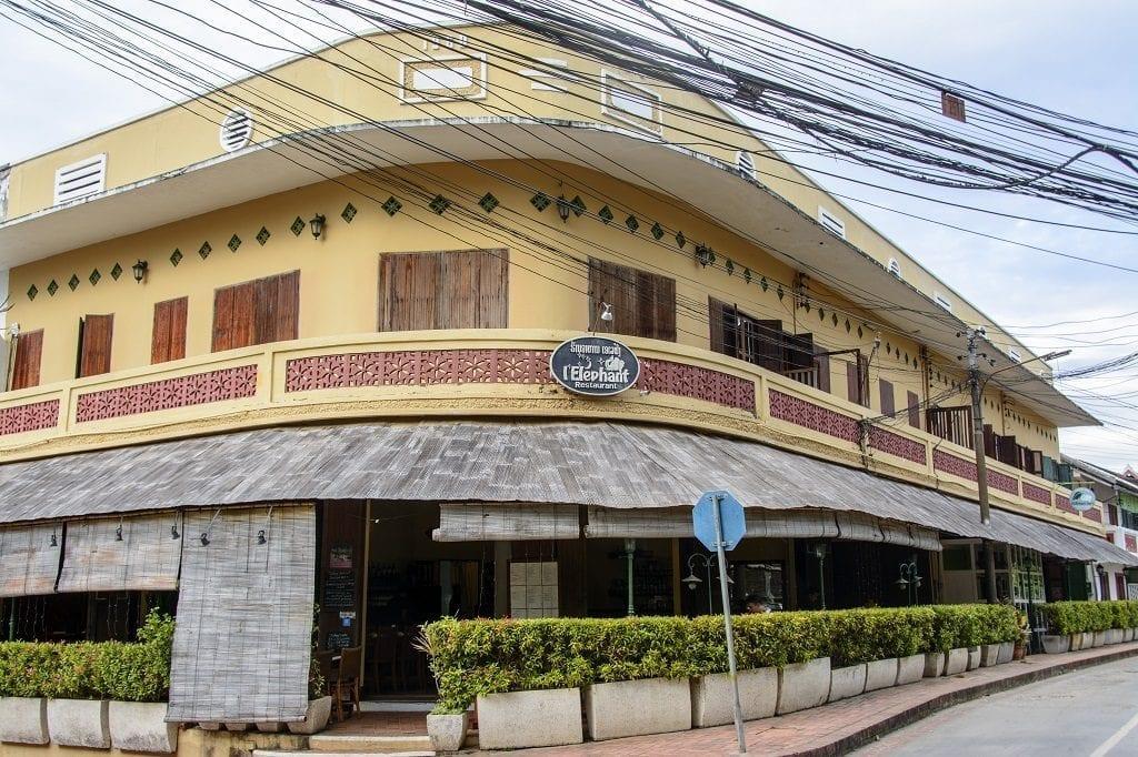 L'Eléphant restaurant, Laos