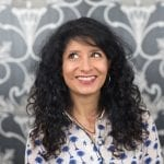 Shappi Khorsandi - host of Slapstick Divas