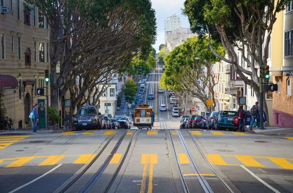 Divided Streets of San Francisco