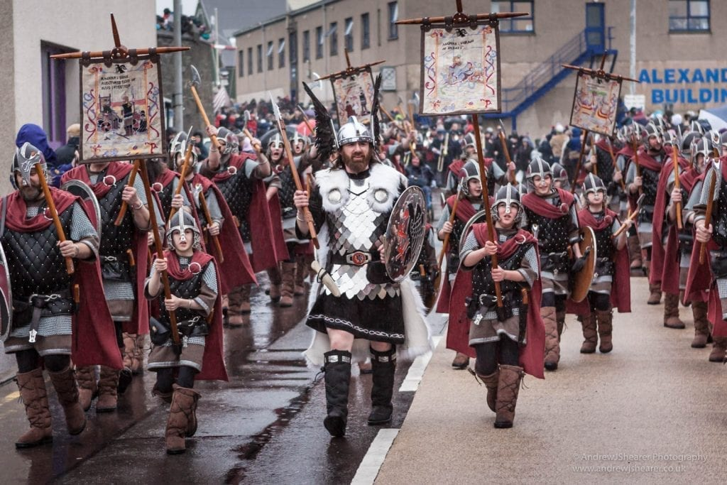 festivals in january Up Helly Aa 3