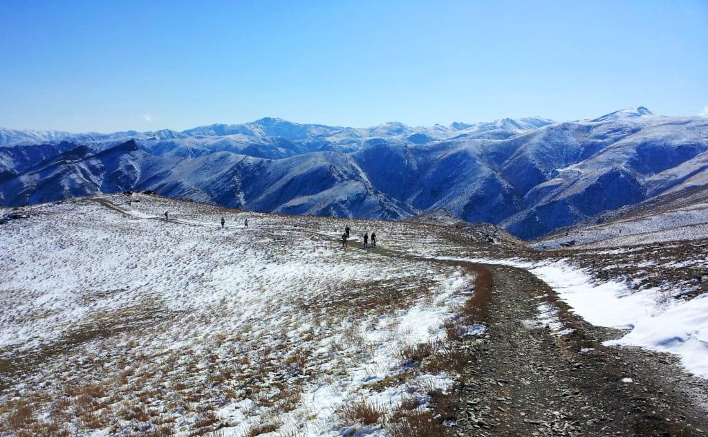 Uzbekistan mountains cycling