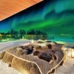 See the Northern Lights in Bed