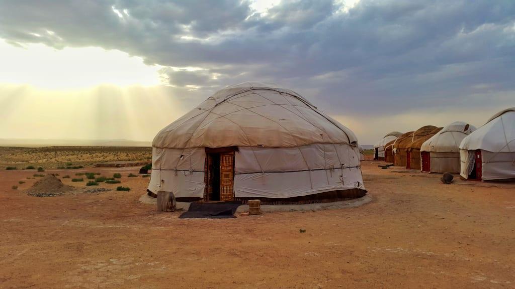 Uzbekistan Yurt Camp