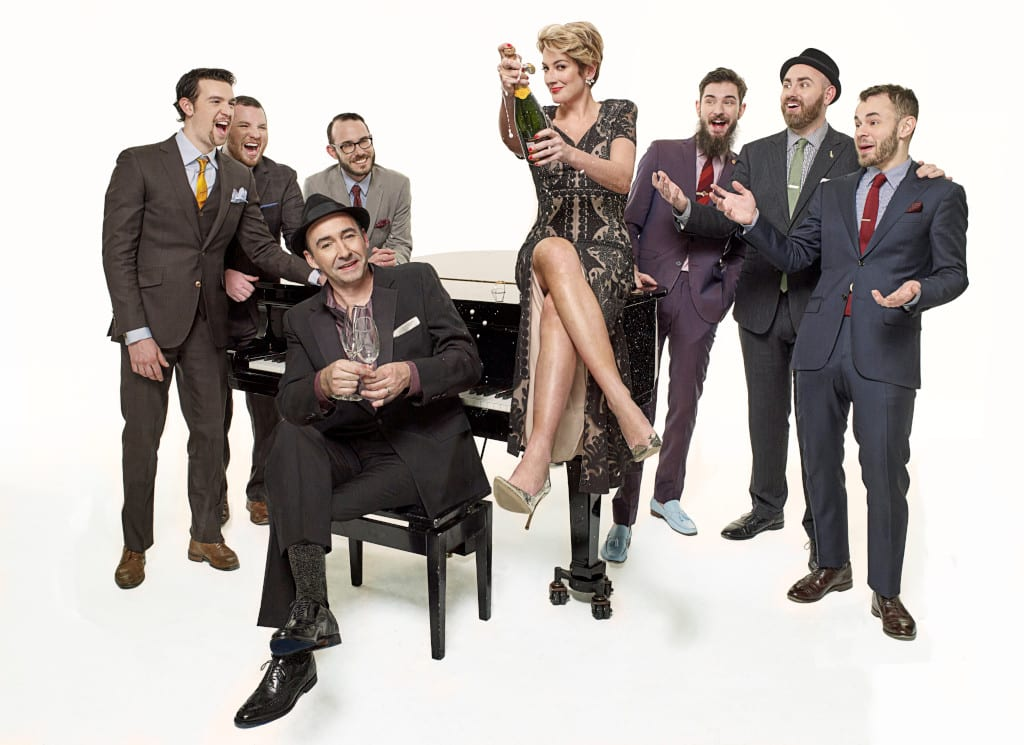 the hot sardines In the Round