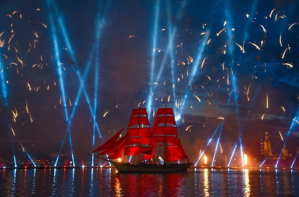 White Nights Festival 2019 Saint Petersburg, Russia