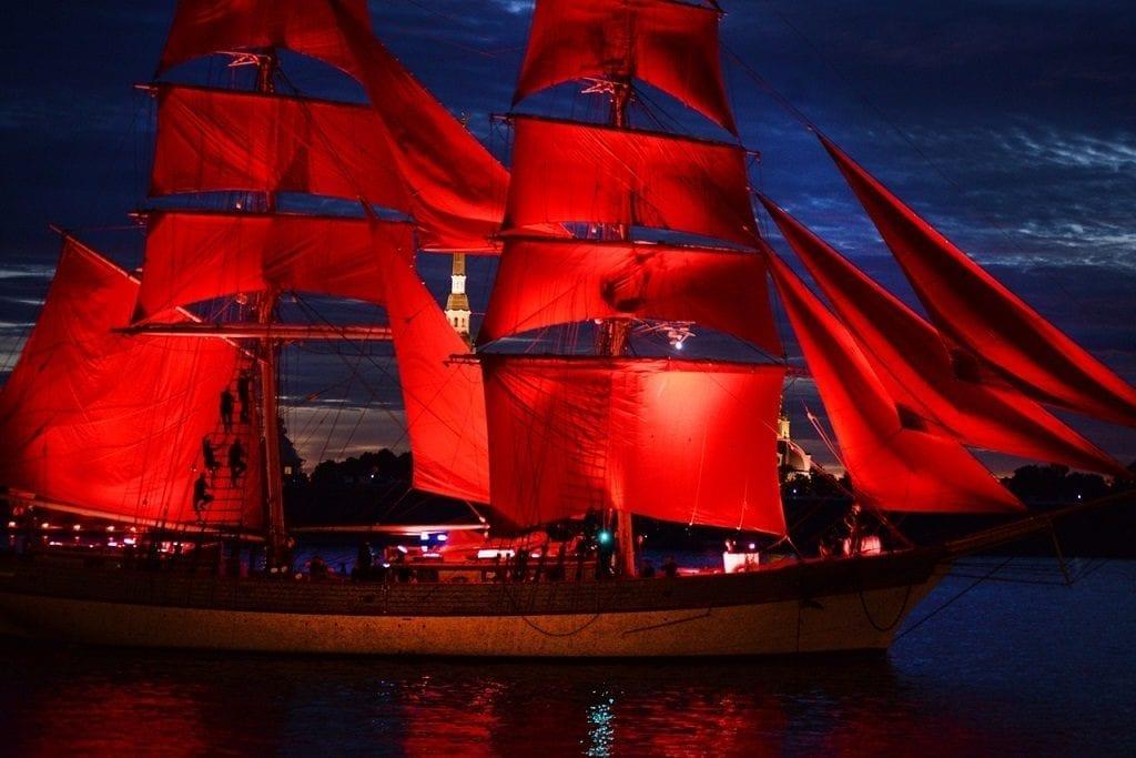 Scarlet Sails Saint Petersburg Russia