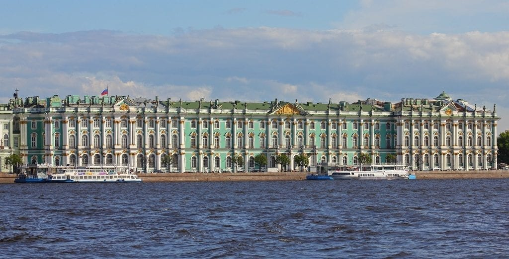 The State Hermitage Museum Saint Petersburg Russia