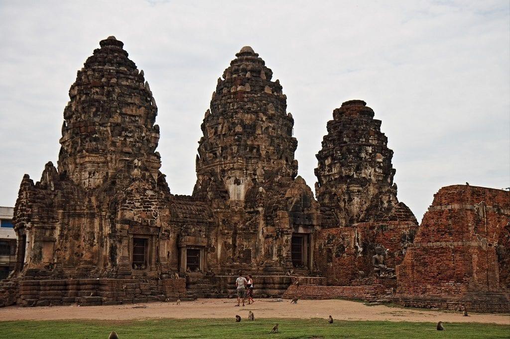 Phra Prang Sam Yot temple, Thailand