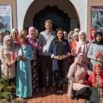 Harry and Meghan Visit Morocco Women's Charity