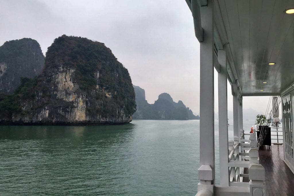 on board a Halong Bay Cruise, c. Marissa Carruthers