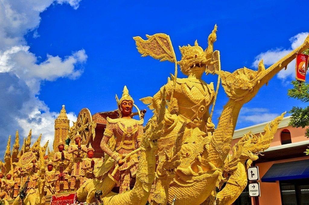 Candle Festival Thailand
