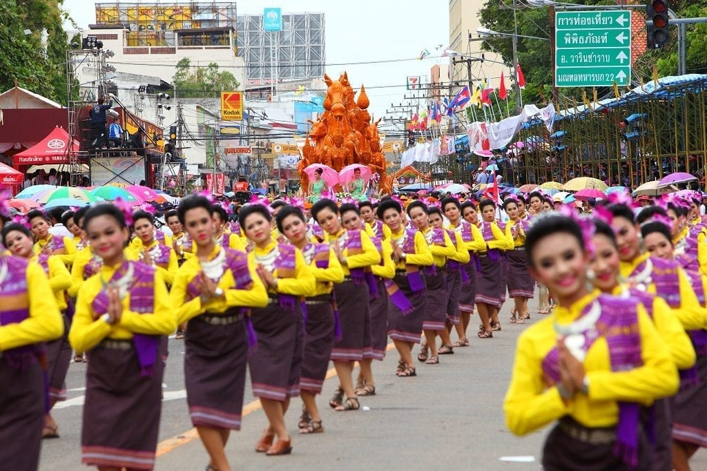 Candle Festival Thailand