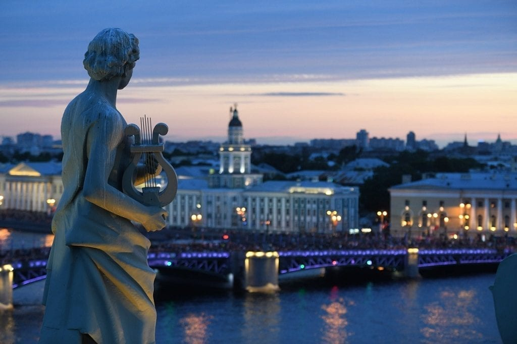 White Nights Saint Petersburg Russia
