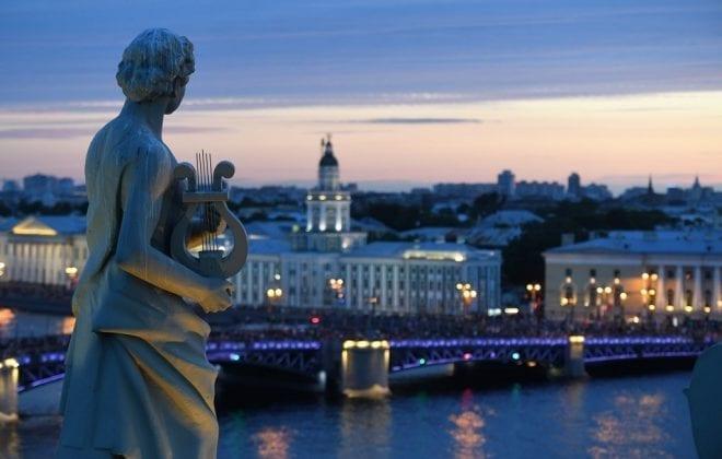 White Nights Saint Petersburg Russia