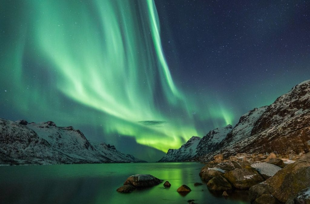Across the Arctic Circle to the Northern Lights