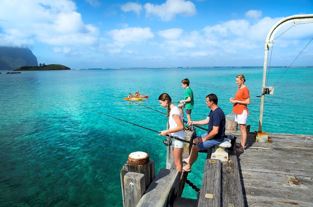 Fishing, Lord Howe Island