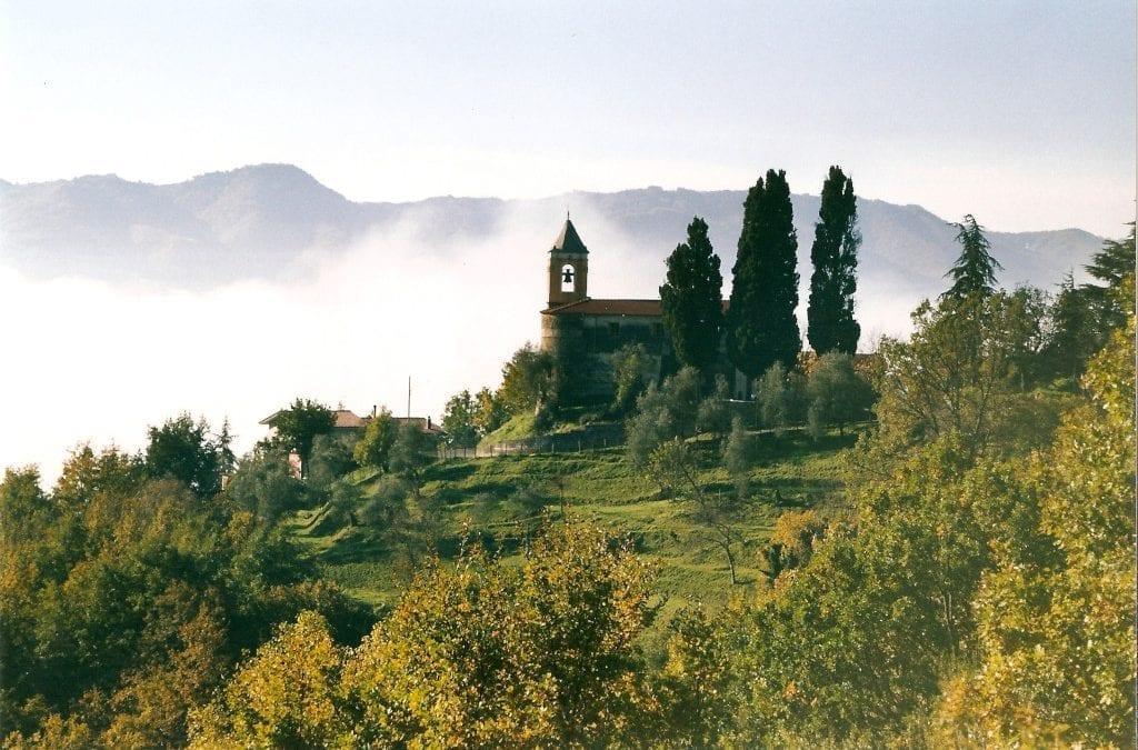 Springtime Knitting in Tuscany