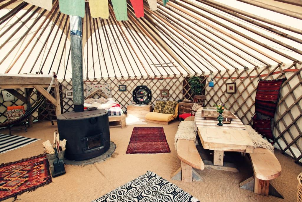Black Mountains Yurt